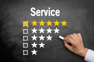 Servicequalitt / Bewertung